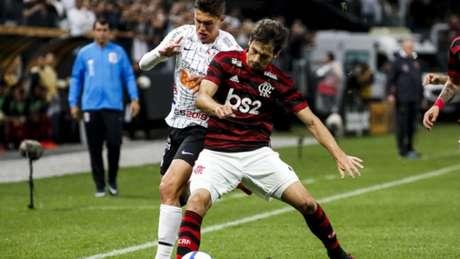 Rodrigo Caio foi o melhor em campo pelo Flamengo (Foto: Rodrigo Gazzanel/RM Sports)