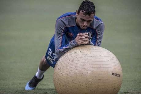 Quase intocável, Pituca foi titular em 27 jogos do Santos nesta temporada (Ivan Storti/Santos FC)