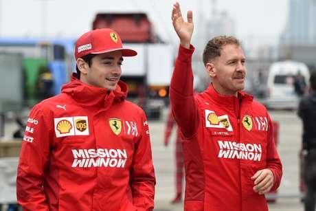 Coulthard considera que é mais fácil para Leclerc do que para Vettel na Ferrari