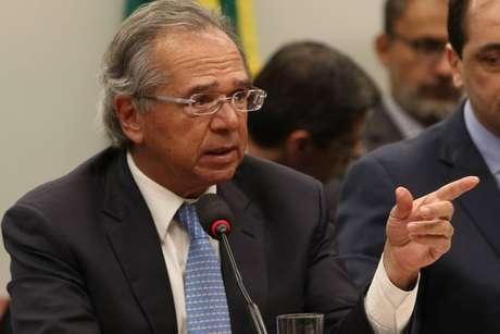 Guedes disse que medocom custo de transição paracapitalizaçãoé 'baseadoem uma falsa premissa'.