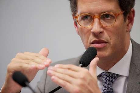 Ministro do Meio Ambiente, Ricardo Salles  27/03/2019 REUTERS/Ueslei Marcelino