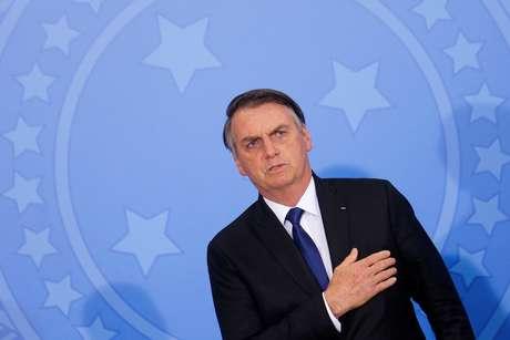 Presidente Jair Bolsonaro durante cerimônia no Palácio do Planalto 07/05/2019 REUTERS/Adriano Machado
