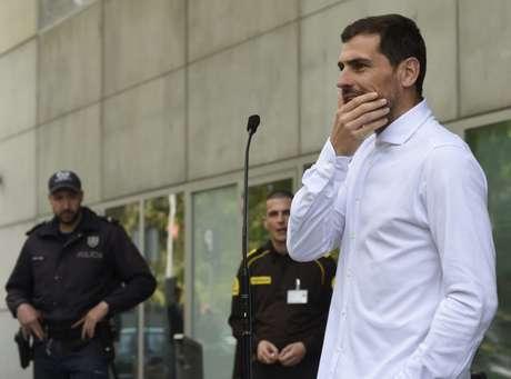 Casillas está bem de saúde (Foto: AFP)