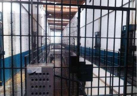 Corredor do Pavilhão A da Penitenciária III de Hortolândia