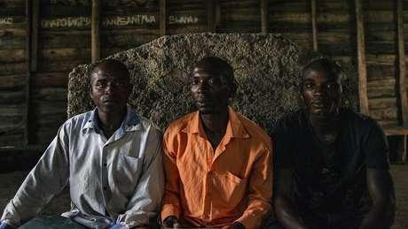 Moises Bagwiza participa de reuniões organizadas pela Rede de Homens do Congo