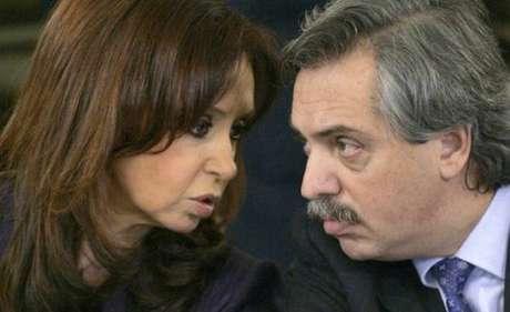 Resultado de imagem para Cristina Kirchner Alberto Fernandez