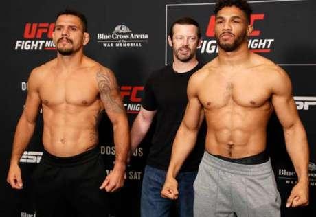 Dos Anjos é tido como favorito em duelo contra Kevin Lee no main event do UFC Rochester (Foto: Getty Images)