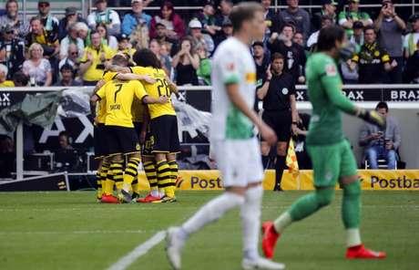 Aurinegros venceram, mas não levaram (Foto: AFP)