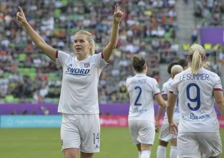 Lyon é hexacampeão da Champions feminina (Foto: AFP)