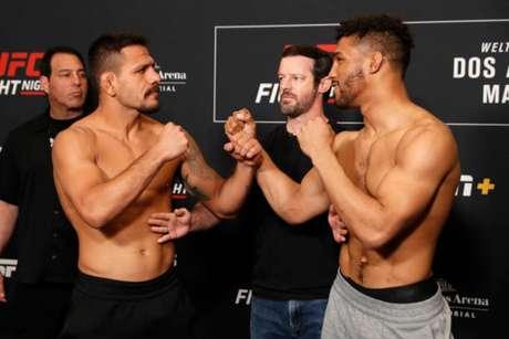 Rafael dos Anjos será o responsável por liderar o card do UFC Rochester neste sábado (Foto: Getty Images)