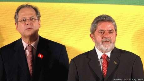 Após coordenar campanha vencedora de Lula em 2002, Dirceu virou o homem forte do governo