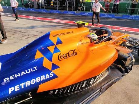 Bolsonaro quer o fim da parceria entre Petrobras e McLaren