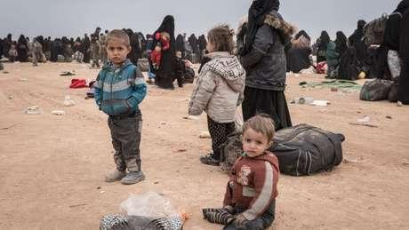 Netos de González estavam em acampamento de Al Hol para viúvas e filhos de combatentes do Estado Islâmico