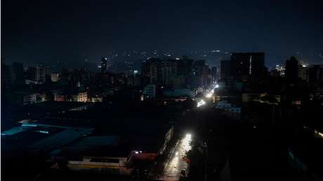 A Venezuela sofreu um apagão recentemente