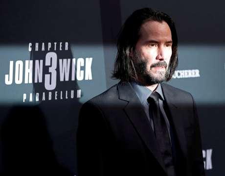 "Keanu Reeves, astro de  ""John Wick 3 - Parabellum"", em Los Angeles. 15/05/2019. REUTERS/Mario Anzuoni"