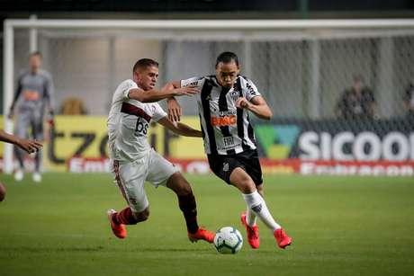 Cuéllar atuou durante os 90 minutos na derrota no Estádio Independência (Foto: Bruno Cantini / Atlético)