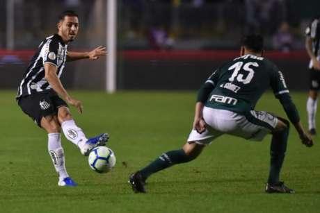 Santos não conseguiu balançar as redes do Palmeiras (Foto: Divulgação/Twitter)