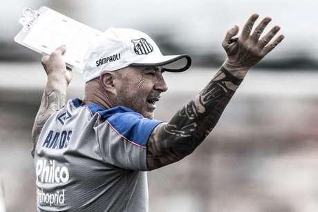 Técnico do Santos dá preferência para jogos na Vila Belmiro (Foto: Ivan Storti)