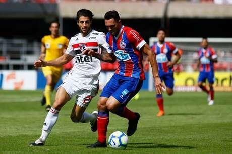 São Paulo e Bahia fizeram jogo sem emoção no Morumbi (Luis Moura / WPP)