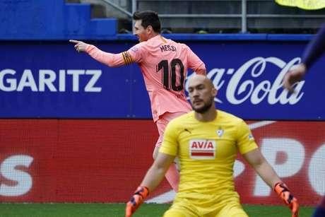 Messi marcou duas vezes (Foto: AFP)