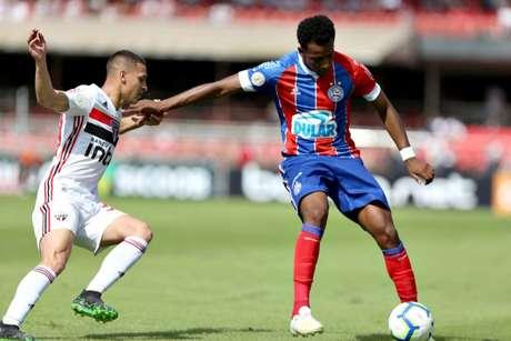 Antony não teve boa atuação desta vez - FOTO: Felipe Oliveira / EC Bahia