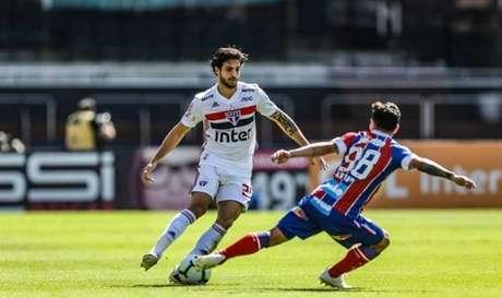 São Paulo e Bahia vão se enfrentar novamente na quarta-feira