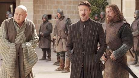 Personagens masculinos no episódio 7 da primeira temporada; ele teve menos de 20% de falas femininas