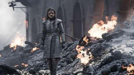 O nome de Arya Stark é um dos mais falados pelas personagens mulheres