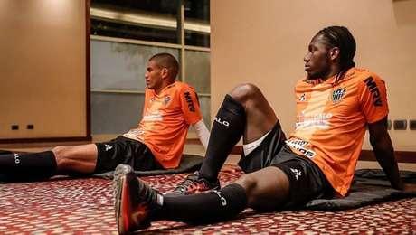 Atlético-MG treinou em hotel em Santiago antes de jogo pela Sul-Americana