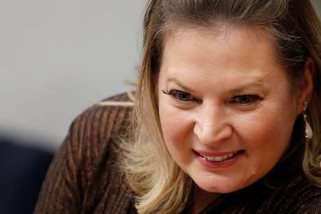 A líder do governo no Congresso, deputada Joice Hasselmann