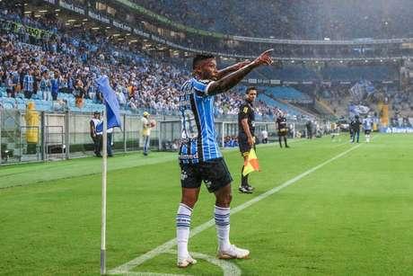 Marinho está perto de ser o novo reforço do Santos na temporada (Foto: Lucas Uebel/Divulgação/Grêmio)