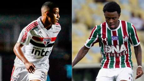 Brenner vai jogar no Fluminense e Calazans atuará pelo São Paulo (Foto: Reprodução)