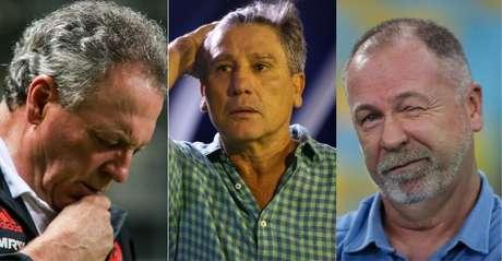 Abel Braga, Renato Gaúcho e Mano Menezes