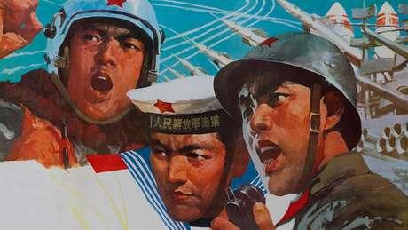 Na redes sociais chinesas, a guerra comercial está sendo retratada como uma questão militar