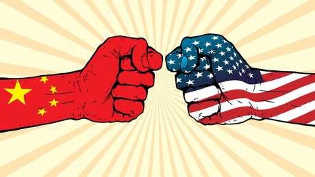 As tensões entre a China e os EUA em relação ao comércio vêm aumentando