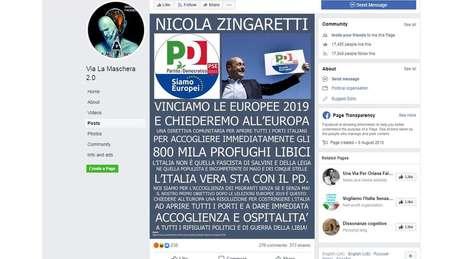 Grupos populistas na Itália têm espalhado desinformação nas eleições europeias