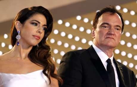 Diretor Quentin Tarantino e a mulher, Daniella Pick, no Festival de Cannes 21/05/2019 REUTERS/Regis Duvignau