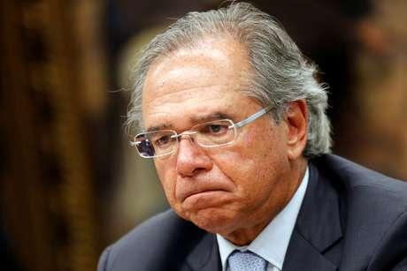 Paulo Guedes, em sessão no Congresso 8/5/2019 REUTERS/Adriano Machado