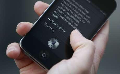 LAssistente de voz da Apple, Siri 14/10/2011 REUTERS/Suzanne Plunkett