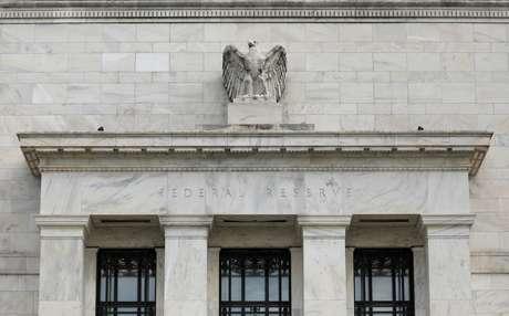 Fachada do prédio do Federal Reserve, em Washington DC, EUA. 22/08/2018. REUTERS/Chris Wattie