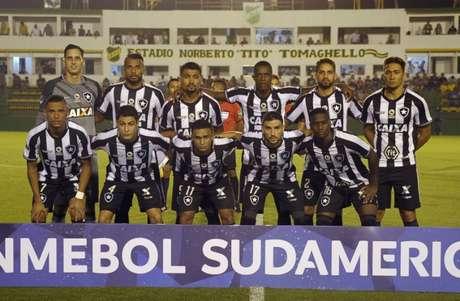 Botafogo eliminou o Defensa y Justicia-ARG na fase anterior (Foto: JAVIER GONZALEZ TOLEDO / AFP)