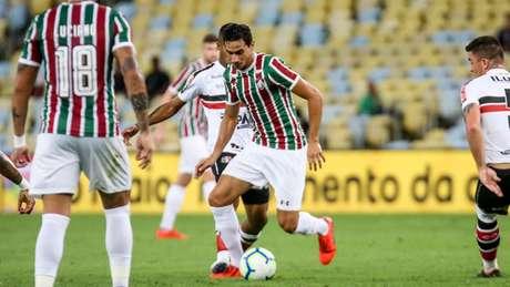 Ganso já marcou dois gols com a camisa tricolor (Foto: LUCAS MERÇON / FLUMINENSE F.C.)