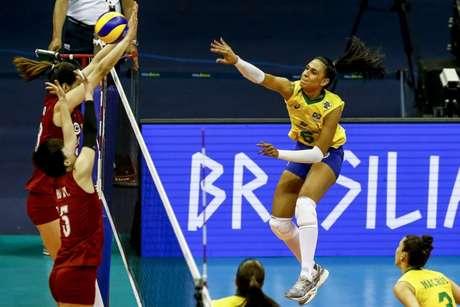 Paula Borgo foi um dos destaques do Brasil (Wander Roberto/Inovafoto)