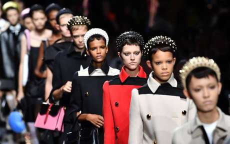 Desfile da Prada na Semana de Moda de Milão