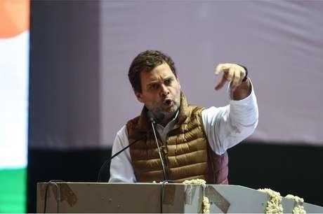 O partido Congresso Nacional Indiano, de Rahul Gandhi, sofreu uma segunda derrota sucessiva