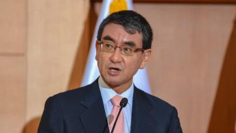 Taro Kono, chanceler japonês, quer que seu nome seja grafado Kono Taro por veículos estrangeiros