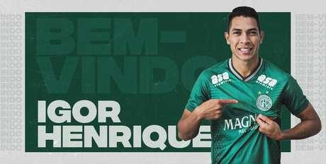 Após atuar pela Ponte, Igor Henrique reforça o Guarani.