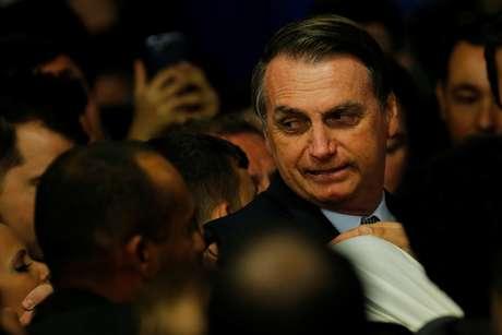 Presidente Jair Bolsonaro durante cerimônia no Palácio do Planalto 21/05/2019 REUTERS/Adriano Machado