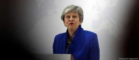 May já prometeu renunciar depois da quarta votação parlamentar de sua proposta para o acordo do Brexit em junho