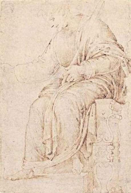 Suposto desenho mais antigo de Michelangelo
